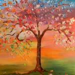 """""""Rainbow Tree"""" by ArtByRuta"""