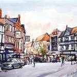 """Market Place, Wigan"" by anthonybarrow"
