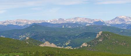 Colorado Continental Divide Panorama 2