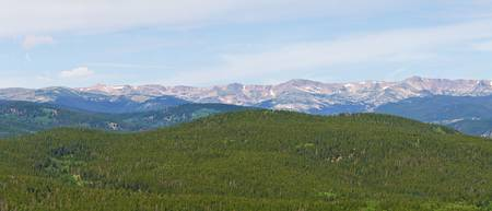 Colorado Continental Divide Panorama 1