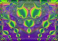 Jewels Abstract Symmetrical