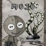 """MOJO Voodoo Doll FolkArt"" by ReneeLozenGraphics"