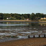 """Bembridge from St Helens At Low Tide (32221-RDA)"" by rodjohnson"
