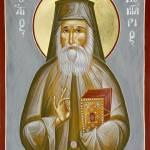 """St Nektarios"" by ikonographics"
