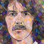 """George Harrison"" by RandalHuiskens"