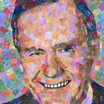 """George H. W. Bush"" by RandalHuiskens"