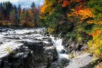 Fall in Rocky Creek Gorge