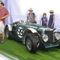 Jacobsen MG N Magnette Special Art Prints & Posters by RG McMahon