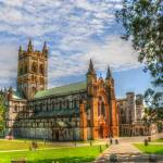 """A view of Buckfast Abbey in Devon, England"" by SteveWalton"