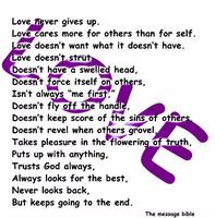 love message purple wave