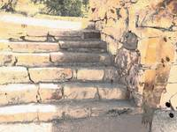 stone steps lt colorwash
