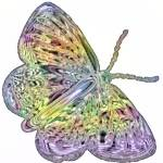 """butterfly pastels2"" by lizmix"
