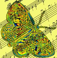 butterfly yellow music