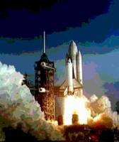 Columbia Shuttle Launch