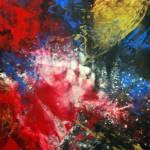 """Cosmic Explosion"" by Rmbartstudio"
