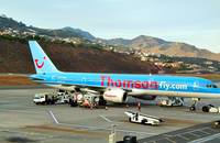 Thomson Boeing B757 at Madeira