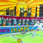 """Tennis Champs"" by Countryswiss"