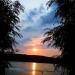 """Sundown at the Lake Geneva"" by fotodejan"