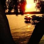 """Sundown on the lake"" by fotodejan"