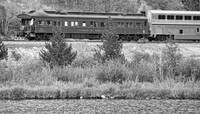 Cyrus K  Holliday Private Rail Car BW