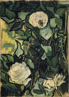 Vincent Van Gogh White Wild Roses Rose Art 1890