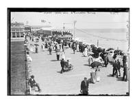 1911 Asbury New York Board Walk
