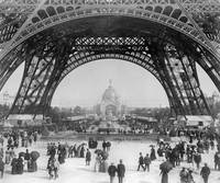 Paris Exposition between 1887-1889