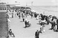 1911 View Of Asbury Park Board Walk New York