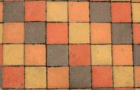 Colorful Sidewalk Paving Blocks