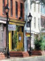 Baltimore MD - Quaint Fells Point Street