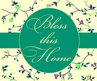 bless this home soft teal