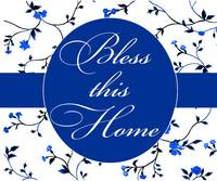 bless this home blue