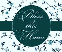 bless this home teal