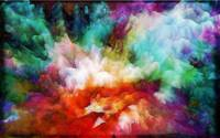 Liquid colors- abstract painting