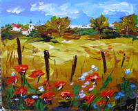 Provence poppies.