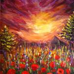 """Poppies- best-180dpi"" by Art_by_Lilia"