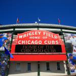 """Chicago Cubs - Wrigley Field"" by Ffooter"