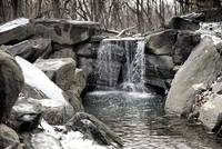 Central Park Waterfall III
