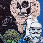 """Star Wars Sugar Skull"" by ArtPrints"
