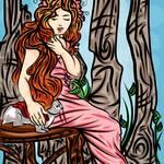 """8-16-13 Ophelia"" by artinthegarage"