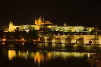 Nighttime in Prague