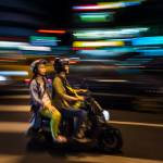 """Scooter, Taipei"" by dawilson"