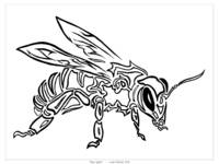 Bee Spirit - Tribal Totem Animal