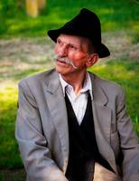 Elderly Hungarian Farmer