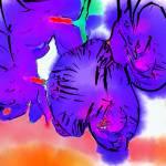 """Purple Blooms"" by Kirtdtisdale"