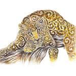 """Swirly Leopard"" by carolina"