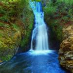 """0232 Bridal Veil Falls"" by vincentlouis"