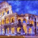 """Coliseum Rome"" by Art_by_Lilia"