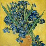 """Vincent Van Gogh Vase With Irises Postimpressionis"" by masterpiecesofart"