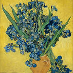"""Vincent Van Gogh Vase With Irises Postimpressionis"" by masterpiecesofart"